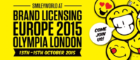 Smiley to show at Brand Licensing Europe