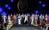 Валентин Юдашкин представил две коллекции на открытии Moscow Fashion Week