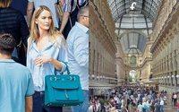 Georgina Greenville e Milano protagoniste della nuova campagna Fontana Milano 1915