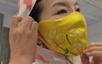 Protection in style: Chinese designer makes silk coronavirus masks