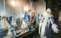 Selfridges blends traditional with futurism as it unveils Christmas theme