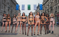 Bluebella launches campaign with Oxford Circus catwalk show