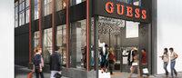 ゲス日本初の路面店が心斎橋にオープン 売り場面積は国内最大級