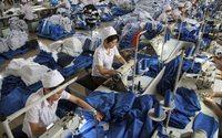 La producción de la industria textil cae en un 8,8 % anual en noviembre