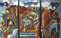 В выставке «Художественный текстиль» во Владивостоке участвуют 45 авторов