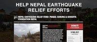 ネパール地震被害にユニクロが10万ドル支援 ネパール出身プラバル・グルンは基金立ち上げ