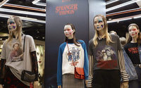 Topshop flagship unveils Stranger Things makeover