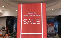 House of Fraser has weak Christmas - report