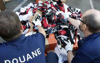 Contrefaçon : saisies record des douanes françaises en 2016