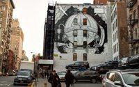 Gucci offre une fresque éphémère à New York