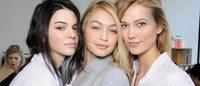 2015年度代言排名榜单公布Kendall Jenner,Karlie Kloss,Gigi Hadid夺得前三