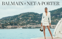 Net-A-Porter launches Balmain summer capsule collection