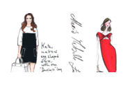 Grifes desenham looks de gestante para a princesa Kate Middleton