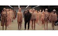 Kanye unveils Star Wars-esque fashion in New York