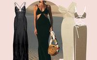Valentino, los vestidos transparentes y los bralets desatan el optimismo de las compradoras de lujo