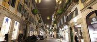 Milano: grandi cantieri in via Monte Napoleone