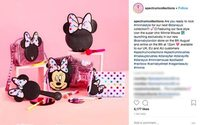 Minnie Mouse is the star of new Spectrum beauty collection