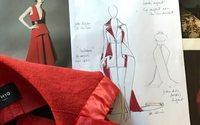 Fashion label 17h10 transforms Cannes' red carpet into a unique dress