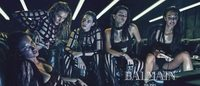 Balmain Spring/Summer 2015 campaign puts top models in surreal settings