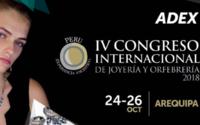 ADEX prepara el IV Congreso Internacional de Joyería en Perú