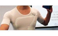 Fabrican un tejido en Japón que permite tomar el pulso de quien lo lleva