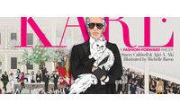 Un libro para encontrar a Karl Lagerfeld