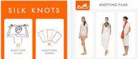 Hermès lança aplicação que ensina amarrar lenço