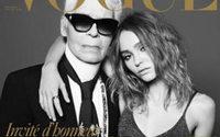 Karl Lagerfeld, editor invitado para la próxima edición de Vogue París