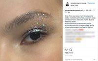 Glitter eyes are this season's most festive beauty trend