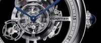 Cartier exhibits its mastery in Rotonde Astrotourbillon Skeleton watch