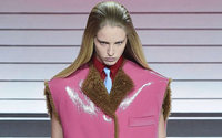 Prada: Miuccia balances femininity with strength; and acts coy about Raf Simons