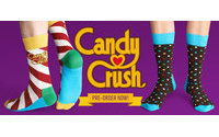 Candy Crush ganha meias exclusivas