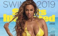 Tyra Banks steps back in front of the camera for the Sports Illustrated Swimsuit Issue