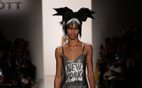 Graphic imagery takes the runway at Jeremy Scott