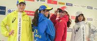 アシックス、東京マラソンに東レのエコ素材を使用したスタッフウェア提供