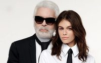 Karl Lagerfeld presents the fruits of his collaboration with Kaia Gerber