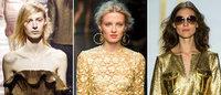 2014春夏时装流行色之金色:炫目色彩为新年开启满满好运