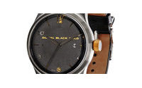 Diesel Black Gold presenta su primer reloj