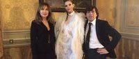 AltaRoma: Anton Giulio Grande a Palazzo Ruspoli porta le 'gatte da salotto'