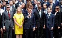 Emmanuel Macron obtient des engagements des géants de la tech