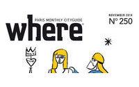 Le magazine Where Paris s'offre Jean-Charles de Castelbajac pour sa nouvelle formule