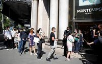 Shoppers revel as Printemps department store reopens in Paris