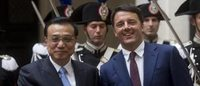 Italy strengthens ties with China