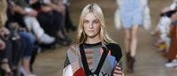 Patchwork is a major ready-to-wear trend this season