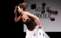Sweet-toothed fashionistas delight in chocolate clothes