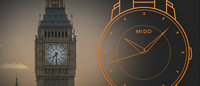 Watchmaker Mido promotes a Big Ben-based competition for its new watch