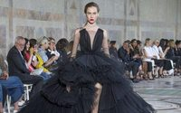 Standing ovation for Giambattista Valli in the Petit Palais