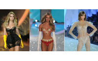 Angels gravam Victoria's Secret Show