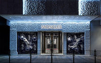 Moncler opens 500 m2 flagship store in Harbour City shopping mall, Hong Kong