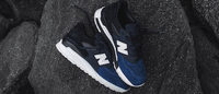 New Balance: a limited edition model by New York designer Ronnie Fieg
